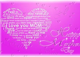 Mother's Day PSD Special - Mom in hart