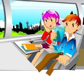 Travelling vector 17