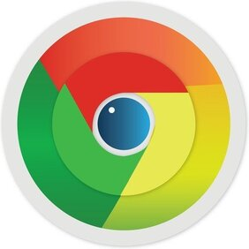 Ícone de giro Google Chrome Free Vector