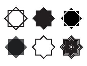 Islamic Star (Vector)