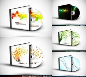 Vector CD box and CD-ROM