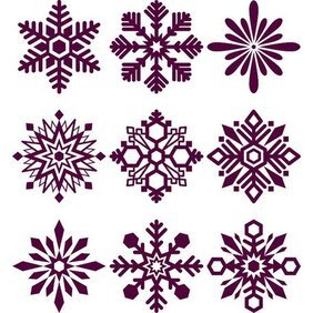 SNOWFLAKES PACK VECTOR.eps