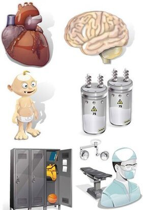 Toddler, operating room, lockers, electricity