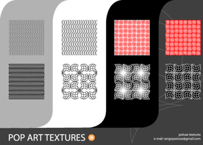 Free Pop Art Vector Texture