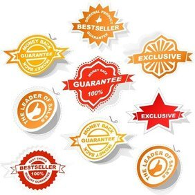 All Kinds Of Badge Labels 03