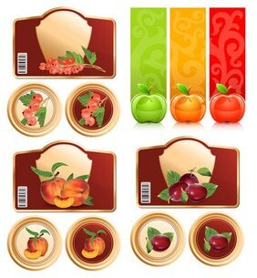 Fruit material and graphics