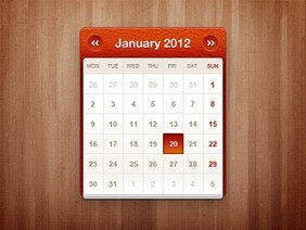 Piccolo widget calendario