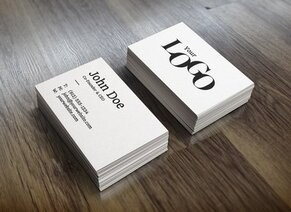 MockUp realistico Business Card