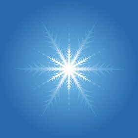 Illuminated snowflake