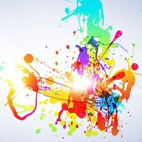 Abstract Splatters Vectors