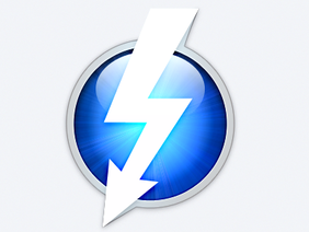 Thunderbolt icon PSD