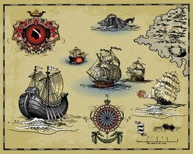 Ancient Sailing Warships