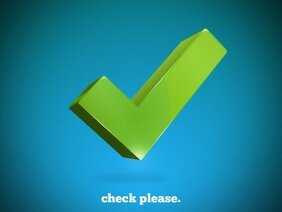 3d Check Mark Vector Free