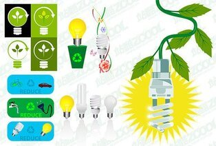 The theme of energy saving and environmental protection mate