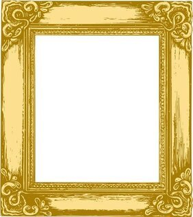 Antique Gold Frame 05