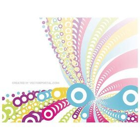 BLENDED BUBBLES IN COLORS VECTOR.eps