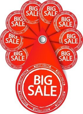 Special Sales Discount Graphic Design Vector 4