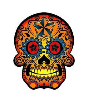 The trend of color skull