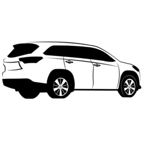 Toyota Highlander Sketch