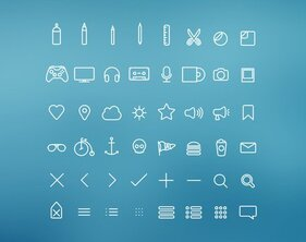 Hangloose Icon Set