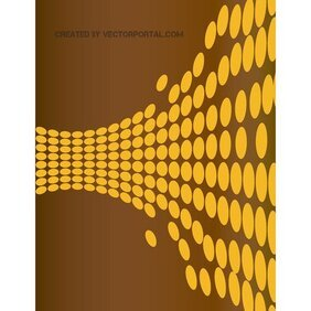 DOTTED BROWN VECTOR BACKGROUND.eps