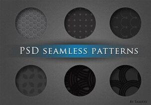 Seamless background pattern set
