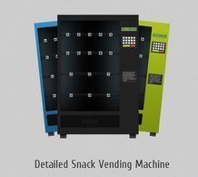 Detailed Snack Vending Machine