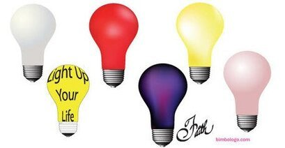 Light Bulbs Vector Free