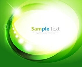 Abstract Green Design Background Vector Illustration Art
