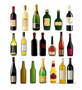Bouteille Vector Collection