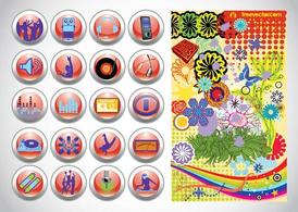 Vector Design boutons graphiques