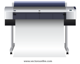 Large Printer by 350Designs