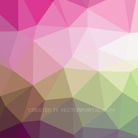 BACKGROUND.eps vecteur LOW POLY