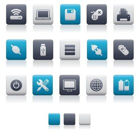 bluegray theme icon