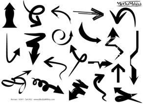 Arrows Free Vector Set 2