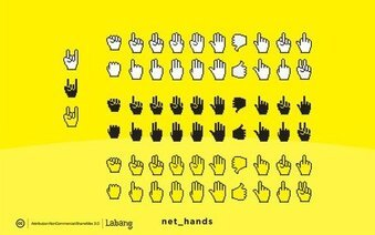 Net Hands Vectors