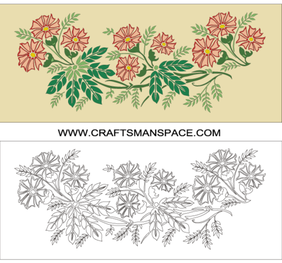 Flowers Vector Artwork Free