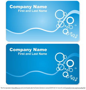Mar business card set