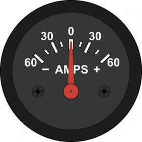 Startright Automotive Amp Meter