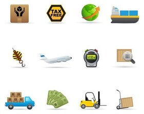 Levering Icon Vector Set