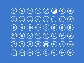 Rounded Icons (PSD)