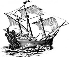 Galleon Sail Ship