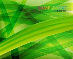 Abstract Green Background Vector Graphic Art