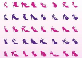 High Heel Shoes Set