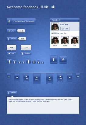 Alternative Facebook-UI