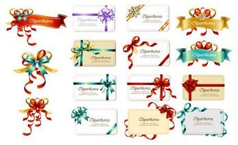 Bow Ribbon cards