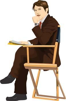 Sit man position vector 3