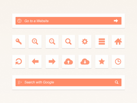 Web Browser UI-element