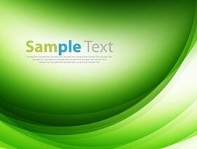 Green Design Abstract Background