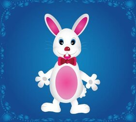 Cute Cartoon Bunny Rabbit Free